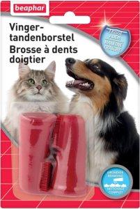 BEAPHAR - Brosse à dents doigtier chat