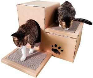 jeelinbore arbre à chat en carton
